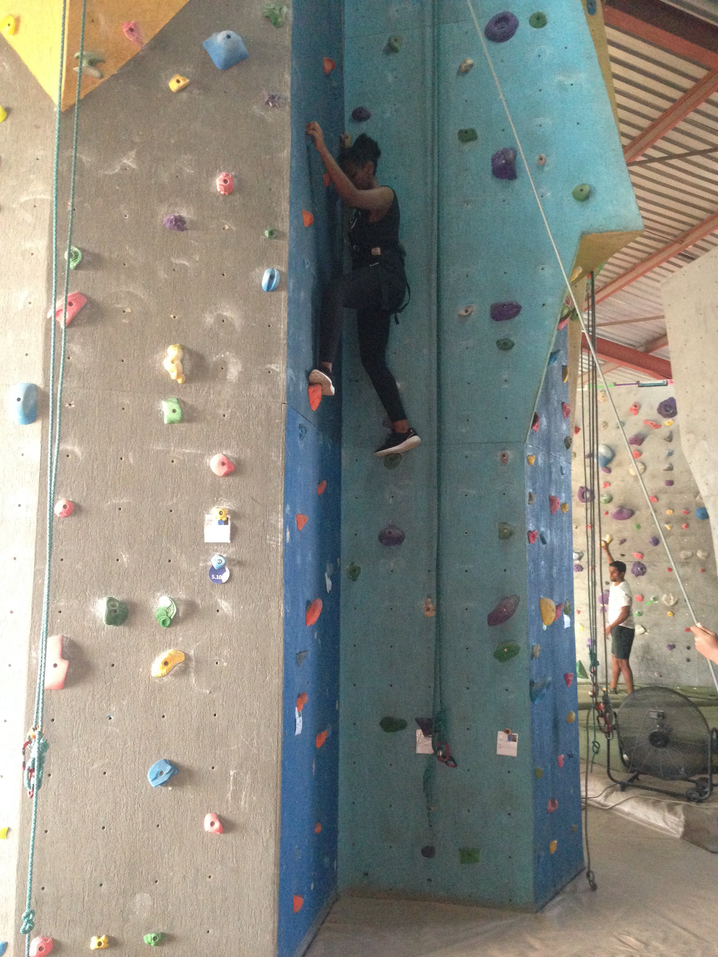 Indoor Rock Climbing in Kenya