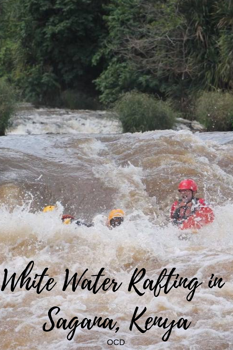 White Water Rafting in Sagana, Kenya