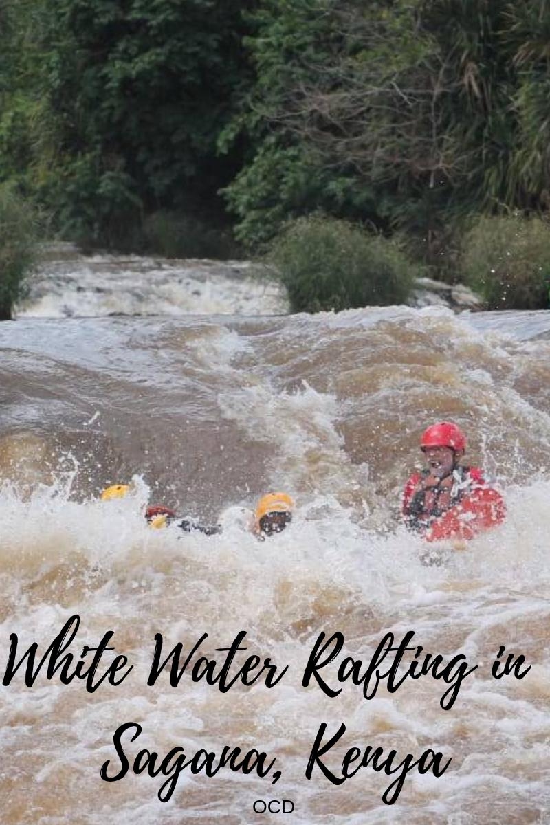 White Water Rafting in Sagana, Kenya