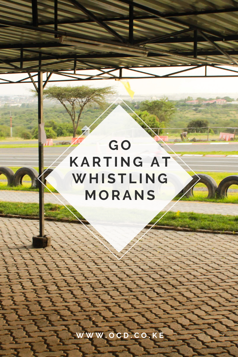 Go Karting in Nairobi, Kenya at Whistling Morans