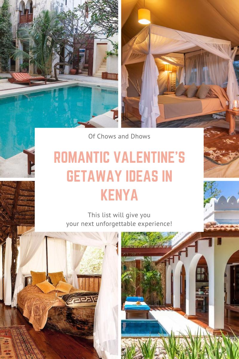 Romantic Valentine's Getaways in Kenya
